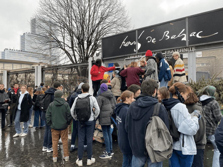 Blocus au lycée Balzac : la réforme du bac, c'est du «grand n'importe quoi»